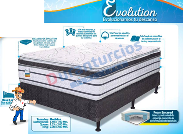 Cama Facenco Evolution Firm – Almacenes Durán Turcios